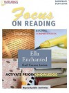 Ella Enchanted Reading Guide (Saddleback's Focus on Reading Study Guides) - Lisa S. French