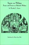 Sayers on Holmes - Dorothy L. Sayers, Alzina Stone Dale