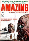 Amazing Science Fiction Stories, 1960 June - Cele Goldsmith, Rosel George Brown, C.C. MacApp, Carroll Mather Capps, Norman M. Lobsenz, James Blish, Robert Bloch, John Brudy