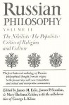 Russian Philosophy V2: Nihilists, Populists - James M. Edie, James P. Scanlan, Mary Barbara Zeldin