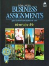 Business Assignments: Information File - Ken Casler, David Palmer