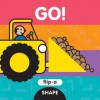 Flip-a Shape: Go! (Board Book) - SAMi