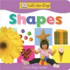 DK Lift the Flap Shapes Board Book - Anne Millard