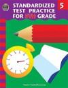 Standardized Test Practice for 5th Grade - Charles J. Shields