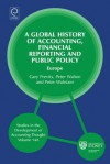 A Global History of Accounting, Financial Reporting and Public Policy: Europe - Gary John Previts, Peter Walton