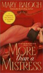 More Than A Mistress (Mistress Trilogy #1) - Mary Balogh, Jenny Sterlin