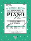David Carr Glover Method for Piano Sight Reading and Ear Training: Primer - Alfred Publishing Company