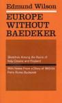 Europe without Baedeker - Edmund Wilson