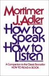 How to Speak How to Listen - Mortimer J. Adler