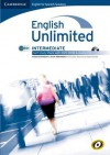 English Unlimited for Spanish Speakers Intermediate Self-Study Pack (Workbook with DVD-ROM and Audio CD) - Maggie Baigent, Nick Robinson