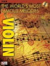 The World's Most Famous Melodies: Violin [With CD] - Donald Sosin
