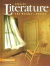 Glencoe Literature: The Readers Choice Course 5 - Jeffrey Wilhelm, Douglas Fisher, Beverly Chin