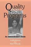Quality ESL Programs: An Administrator's Guide - Judith Simons