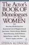 The Actor's Book of Monologues for Women - Stefan Rudnicki, Various