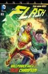 The Flash (2011- ) Annual #2 - Brian Buccellato, Nicole Dubuc, Sami Basri, Ron Frenz, Cully Hamner