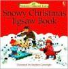 Snowy Christmas Jigsaw Book - Heather Amery