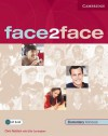 Face2face Elementary Workbook - Chris Redstone, Gillie Cunningham