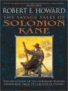 The Savage Tales of Solomon Kane (MP3 Book) - Robert E. Howard, Paul Boehmer