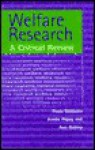 Welfare Research - Fiona Williams, Ann Oakley, Jennie Popay