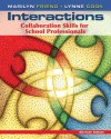Interactions: Collaboration Skills for School Professionals - Marilyn Friend, Lynne Cook