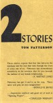 Two Stories - Tom Patterson