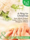 A Ring for Christmas. - Various, Cathy Gillen Thacker, Margaret Allison