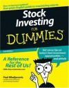 Stock Investing for Dummies - Paul Mladjenovic