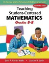 Teaching Student-Centered Mathematics, Volume III: Grades 5-8 with eBook DVD - John A. Van de Walle, Lou Ann H. Lovin