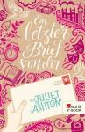 Ein letzter Brief von dir - Juliet Ashton, Katharina Naumann, Silke Jellinghaus