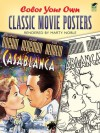 COLORING BOOK: Color Your Own Classic Movie Posters - NOT A BOOK