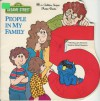 People In My Family (a Golden Super Shape Book) - Jeffrey Moss, Carol Nicklaus