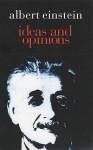 Ideas And Opinions (Condor Books) - Albert Einstein
