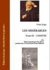 Les misérables Tome II - Cosette - Victor Hugo