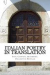 Italian Poetry in Translation: Saba, Campana, Quasimodo, Ungaretti E Montale - Martin Cooper
