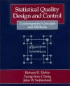 Statistical Quality Design and Control: Contemporary Concepts and Methods - Richard E. DeVor, John W. Sutherland, Tsong-how Chang