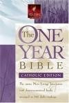 The One Year Bible NLT, Catholic Edition - Tyndale