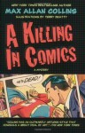 A Killing in Comics (A Jack Starr Mystery) - Max Collins, Terry Beatty