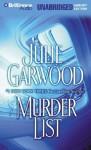 Murder List (Audio) - Julie Garwood