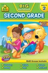 Second Grade Big Workbook - School Zone Publishing Company, Multiple Illustrators