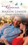 Christmas with Her Boss - Marion Lennox