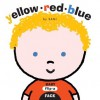 Baby Flip-a-Face: Yellow Red Blue (Board Book) - SAMi