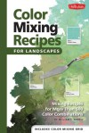 Color Mixing Recipes for Landscapes: Mixing recipes for more than 400 color combinations - William F. Powell