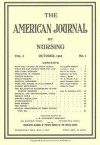 American Journal of Nursing: Reproduction of First Issue, October 1900 - Lippincott Williams & Wilkins