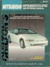 Chilton's Mitsubishi Eclipse 1990-93 Repair Manual (Chilton's Total Car Care) - Kerry A. Freeman