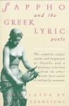 Sappho and the Greek Lyric Poets - Willis Barnstone
