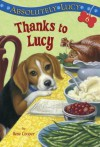 Absolutely Lucy #6: Thanks to Lucy (A Stepping Stone Book(TM)) - Ilene Cooper, David Merrell
