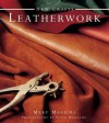 New Crafts: Leatherwork: 25 Practical Ideas for Hand-Crafted Leather Projects That Are Easy to Make at Home - Mary Maguire