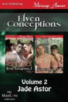 Elven Conceptions, Volume 2 [Sehru's Quest: Conor's Mate] (Siren Publishing Menage Amour Manlove) - Jade Astor
