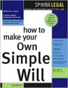 How to Make Your Own Simple Will - Mark Warda