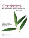 Statistics for Business and Economics, 6th Edition - Paul Newbold, William Carlson, William L. Carlson, Betty Thorne
